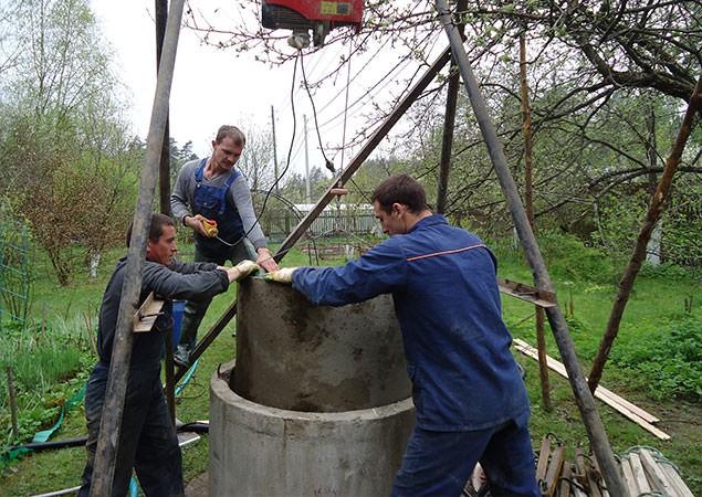 Углубление колодцев в Наро-Фоминском районе